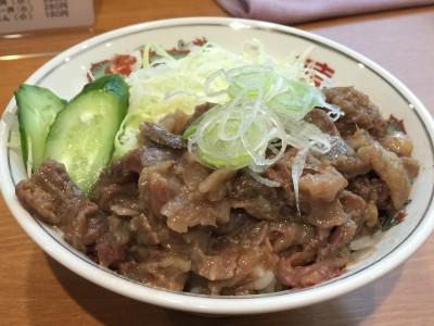 牛すじ丼(小)