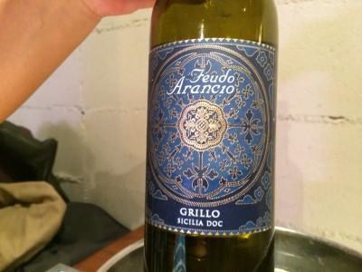 いつものイタリア・シチリア白ワイン