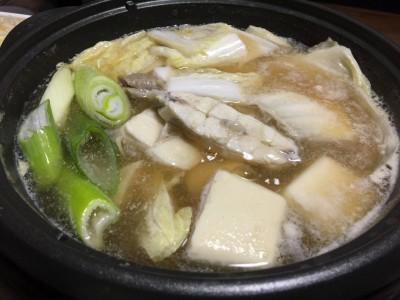 ハゲと鶏肉のお鍋