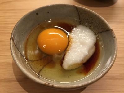 赤卵+とろろ