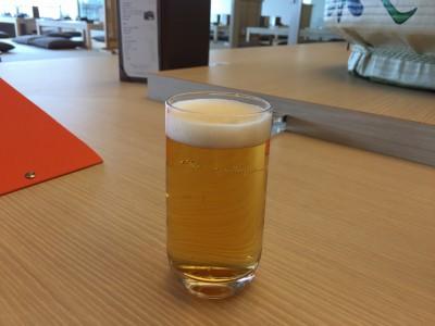 ワンドリンク無料の生ビール