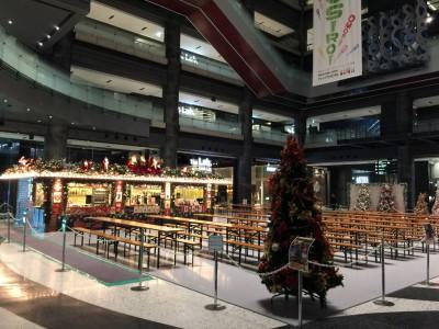グランフロントのクリスマスマーケット