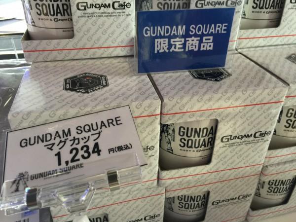 GUNDAM SQUAREマグカップ