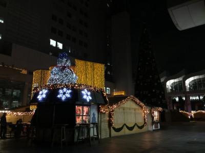 ドイツ・クリスマスマーケット終了してました。