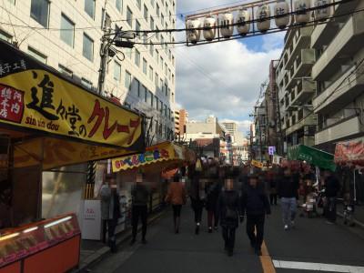 堀川神社参道