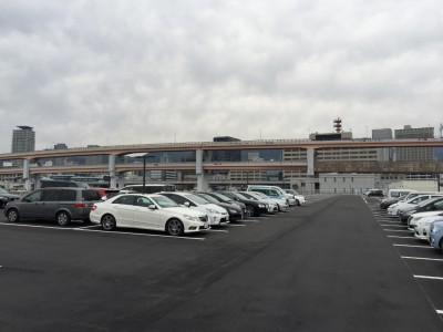蓮の第1駐車場