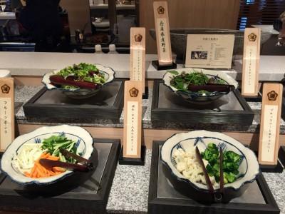 兵庫県産野菜のサラダ