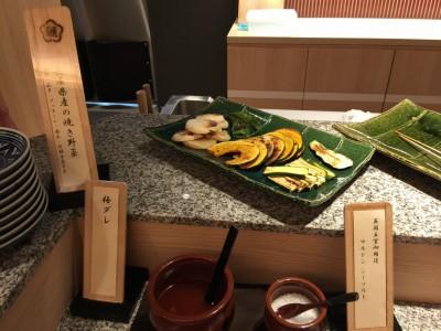 兵庫県産の焼き野菜