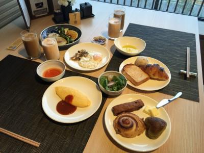 朝食1巡目