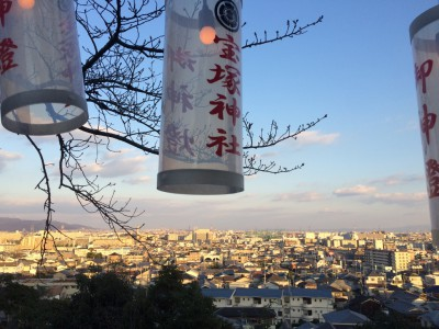 宝塚神社からの景観