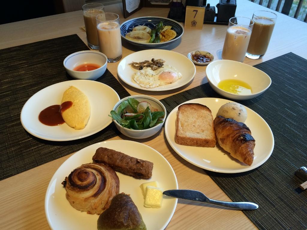 洋食朝食の完成