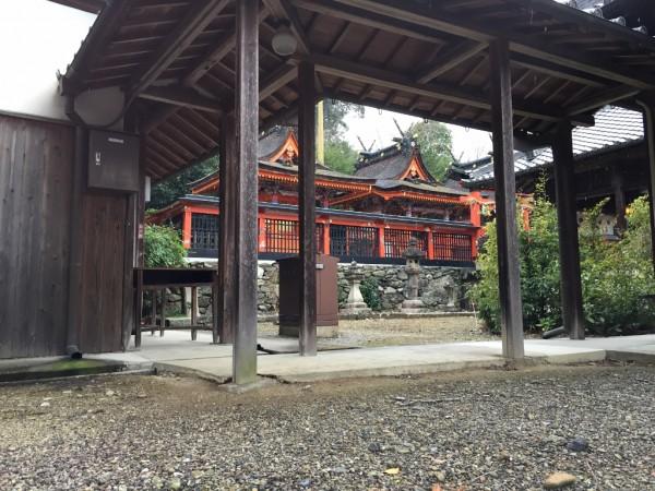 丹生官省符神社 本殿