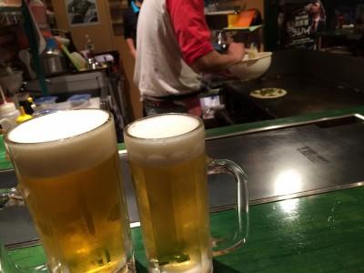 ビールが合う!