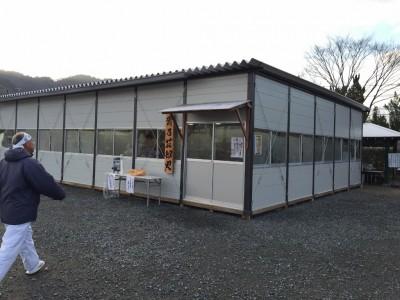 大阪場所・貴乃花部屋の稽古場