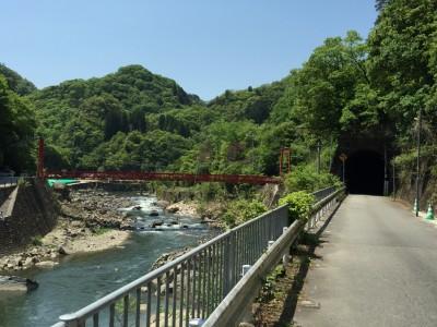 武田尾橋方面
