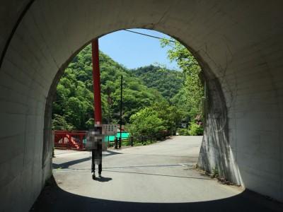 武田尾橋方面・トンネル3