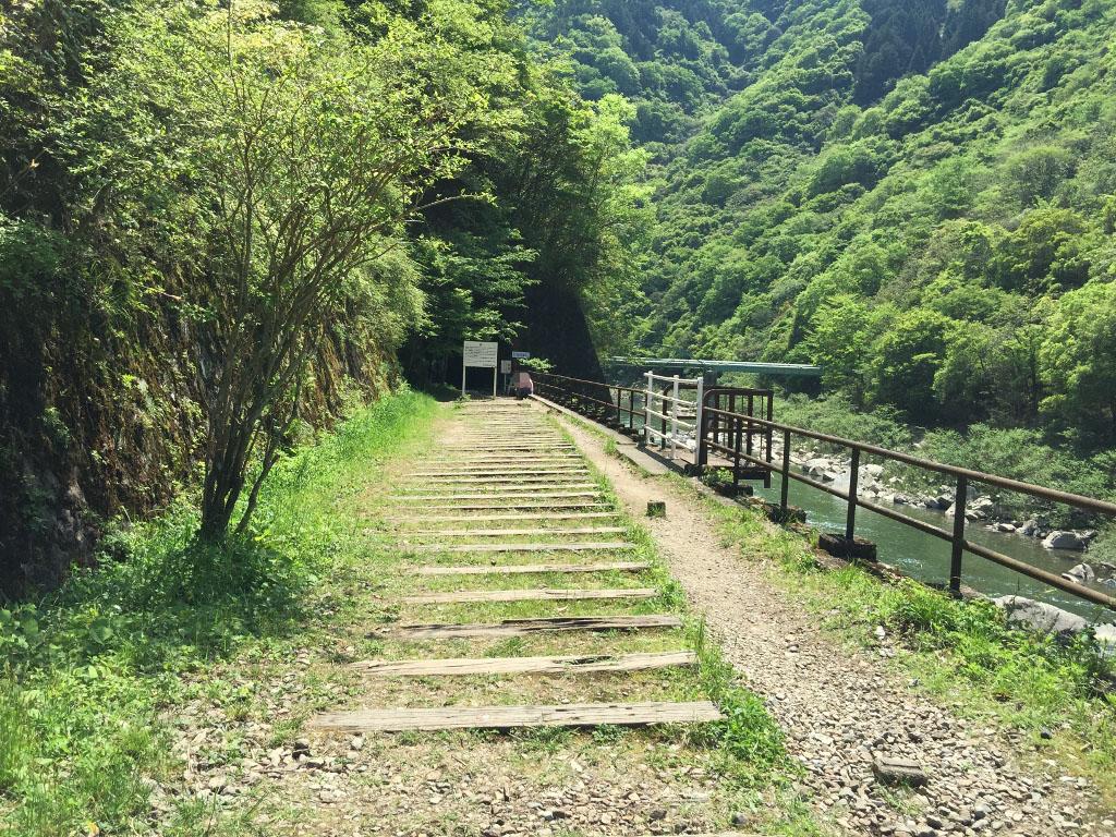 武田尾廃路線ハイキングコース