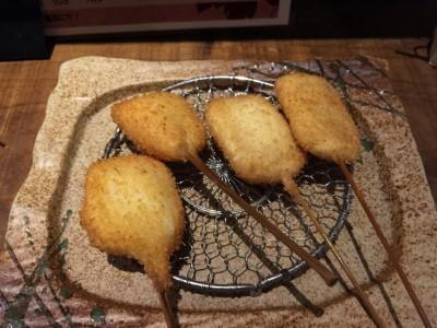 豚チーズ巻き・焼きトウモロコシ