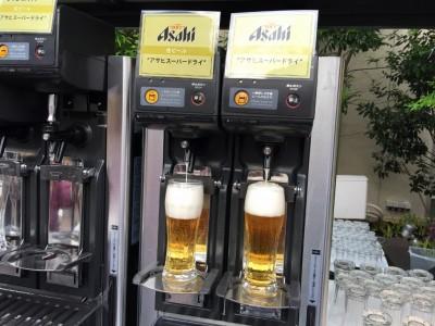 アサヒスーパードライ生ビール