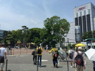 阪神ファンとイオン