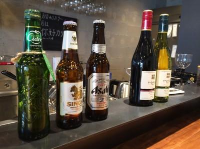 ビールやワイン