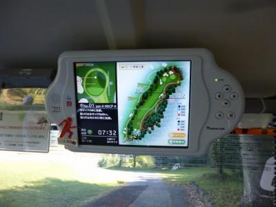 GPSゴルフナビカート