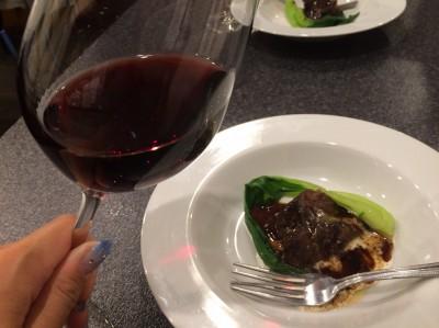 三田牛ほほ肉の赤ワイン煮込み