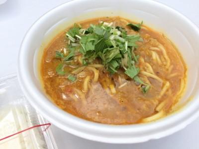 エビ味噌カレーラーメン+ライス
