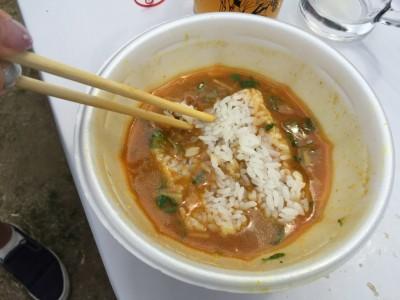 エビ味噌カレーライス