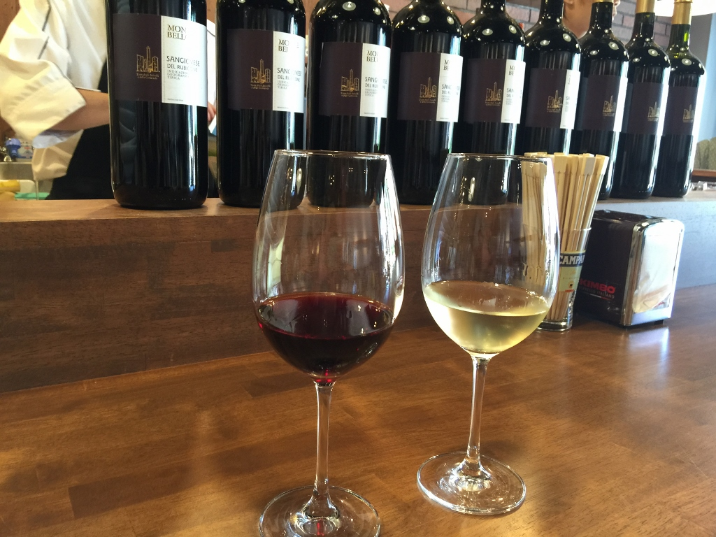 エノテカバッコ・バルのワイン