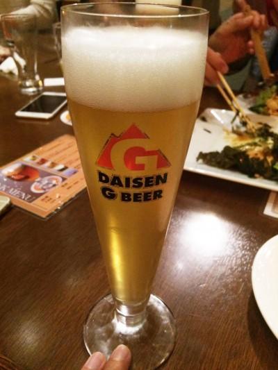 大山Gビール・ピルスナー