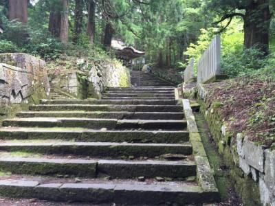 大神山神社奥宮・参道石畳3