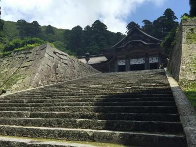 大神山神社奥宮社殿2
