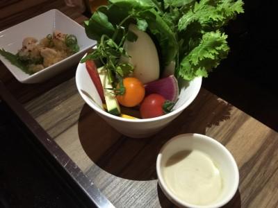 近江野菜のバーニャカウダー