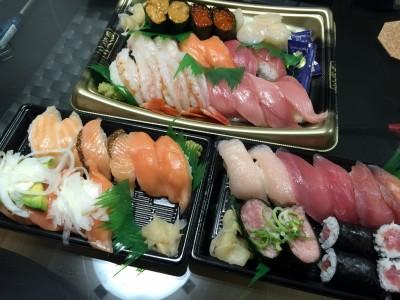 無添くら寿司お持ち帰り寿司