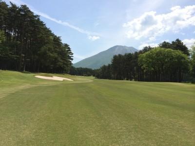 大山ゴルフクラブIN18番ホール