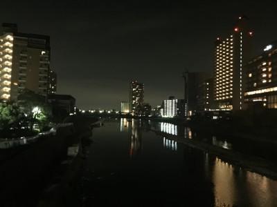 武庫川リバーサイド夜景