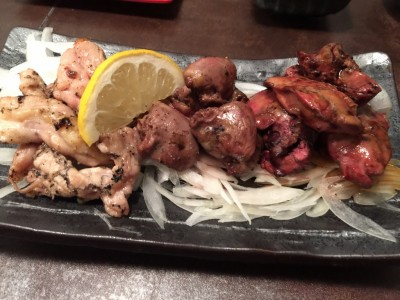 炭火焼鶏・おまかせ三種