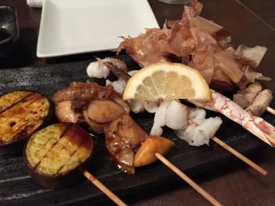 おまかせ串焼き5本