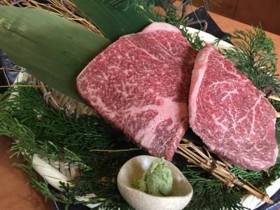 神戸牛ランプとイチボ