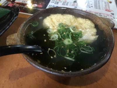 わかめたまごスープ
