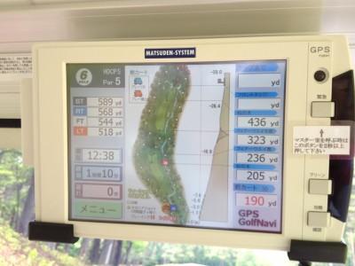 GPSナビ搭載カート