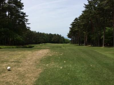 大山ゴルフクラブ6番ホール