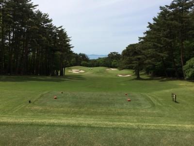 大山ゴルフクラブ9番ホール