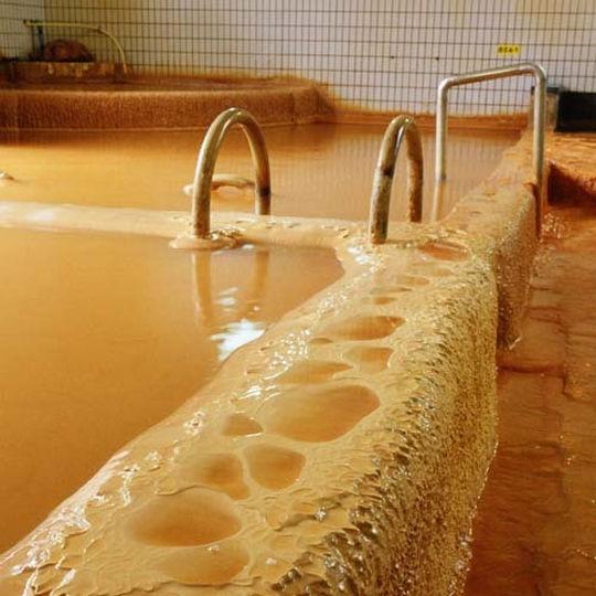 花山温泉の高濃度温泉