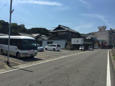 加太淡嶋温泉大阪屋 ひいなの湯の専用駐車場