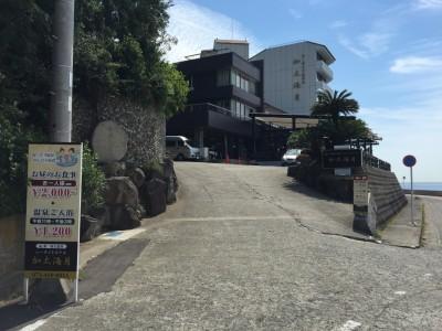 加太温泉 シーサイドホテル加太海月・外観