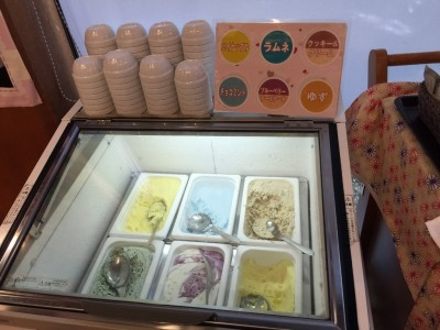 アイス(パイナップル・ラムネ・クッキー&クリーム・チョコミント・ブルーベリーチーズケーキ・ゆず)