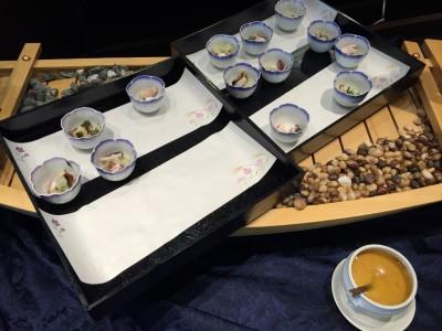 真蛸と若布の酢味噌添え