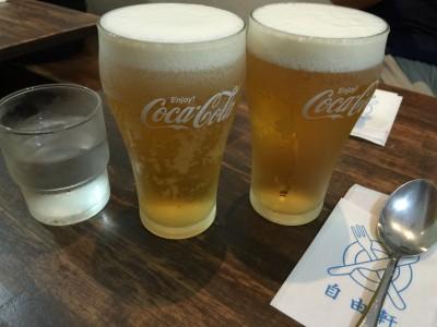 自由軒生ビール(間違い分)